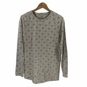 Roots Canada Long Sleeve Patterned Tee T-shirt